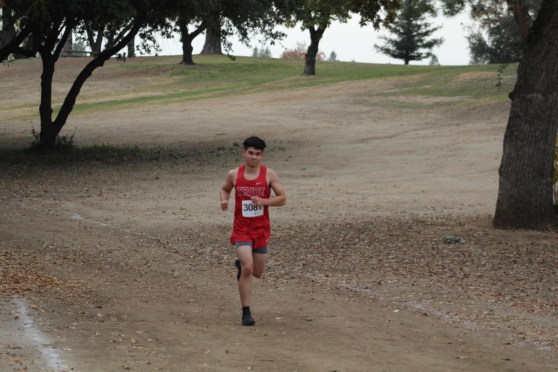 Freddie Luna racing at woodward park