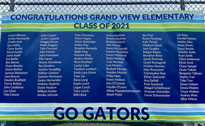 Congratulations to Grand View 5th Graders! We will miss you! Thumbnail Image