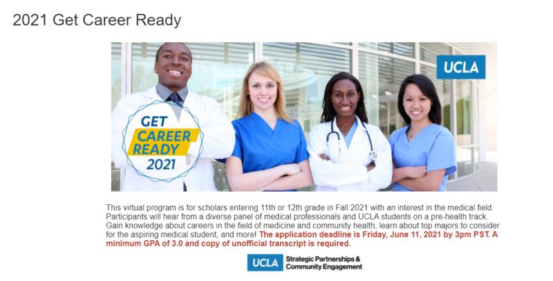 UCLA Get Career Ready Program Featured Photo