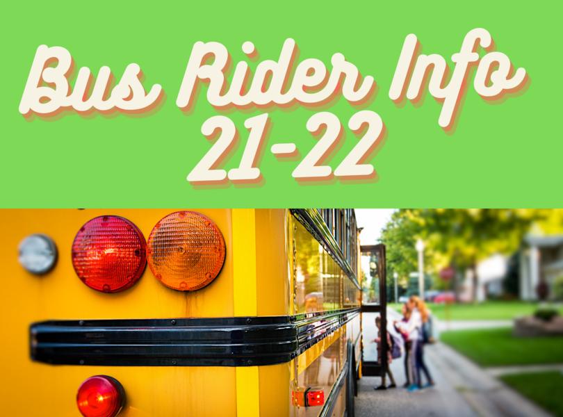 bus rider info