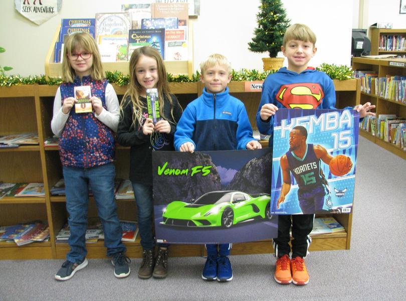 Congratulations 2nd Grade Readers- job well done!