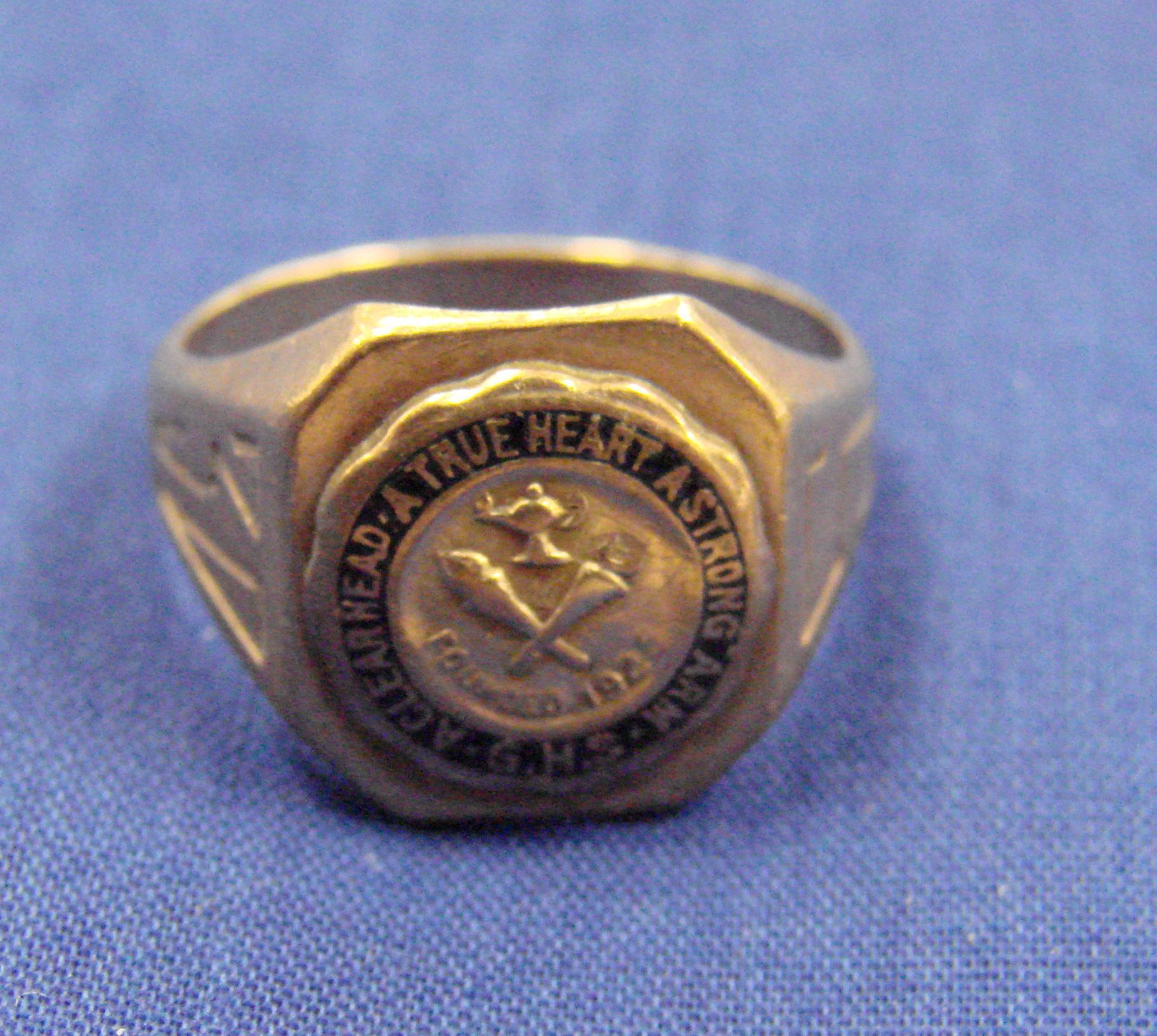 Margaret's class ring