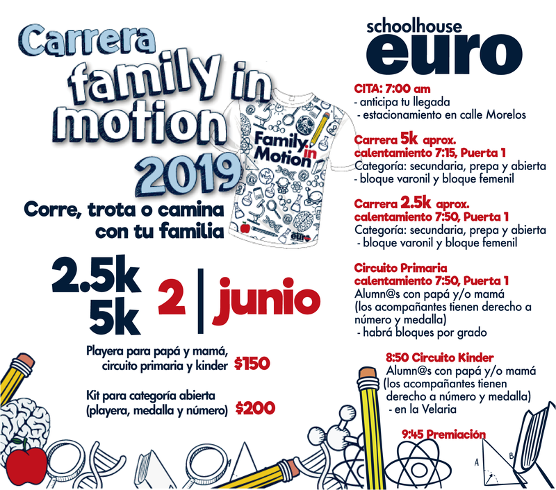 Carrera 2.5 y 5K Family in Motion 2019 Featured Photo