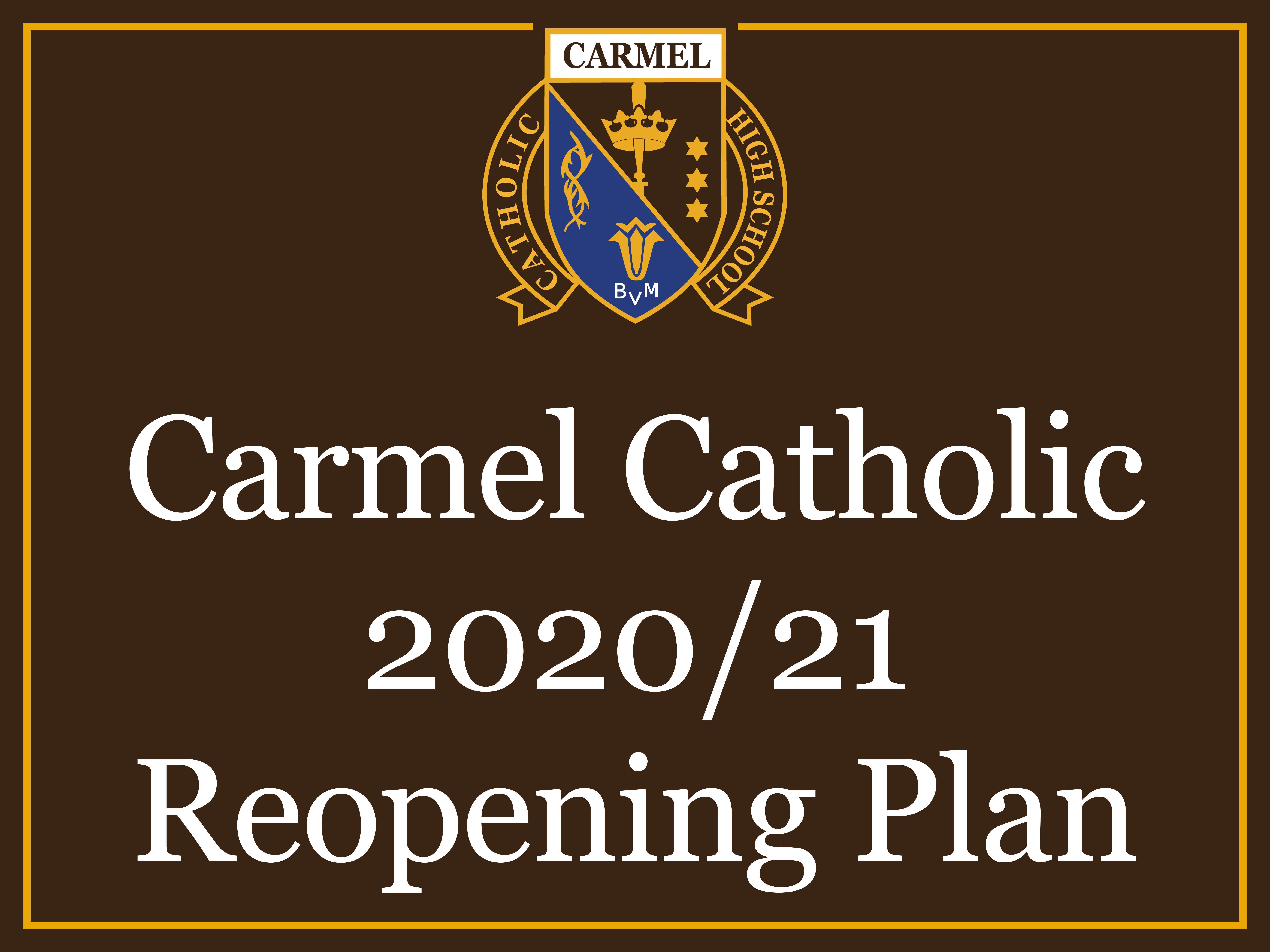 CCHS REOPENING PLAN