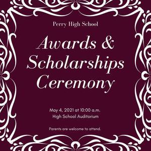 hs awards ceremony