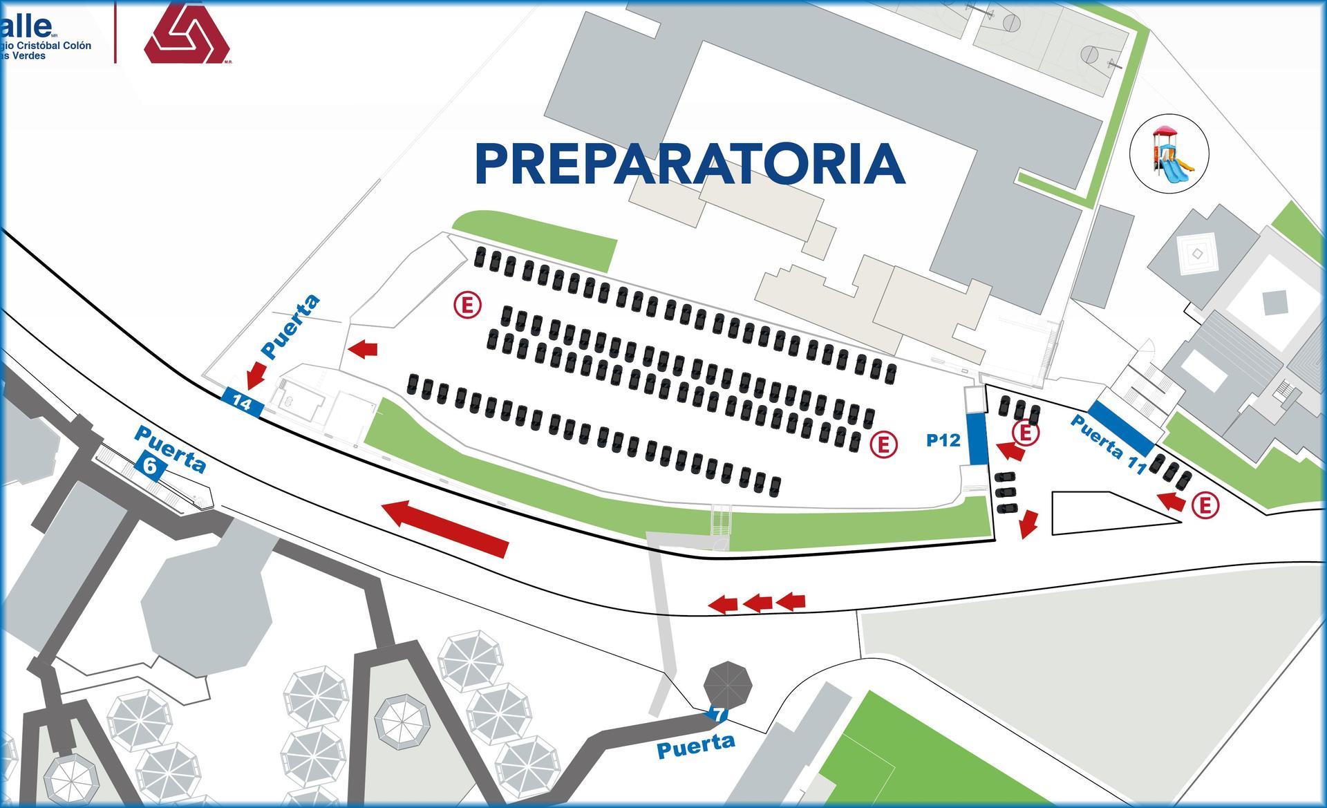 Mapa Prepa