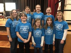 Image of Battle of the Books team