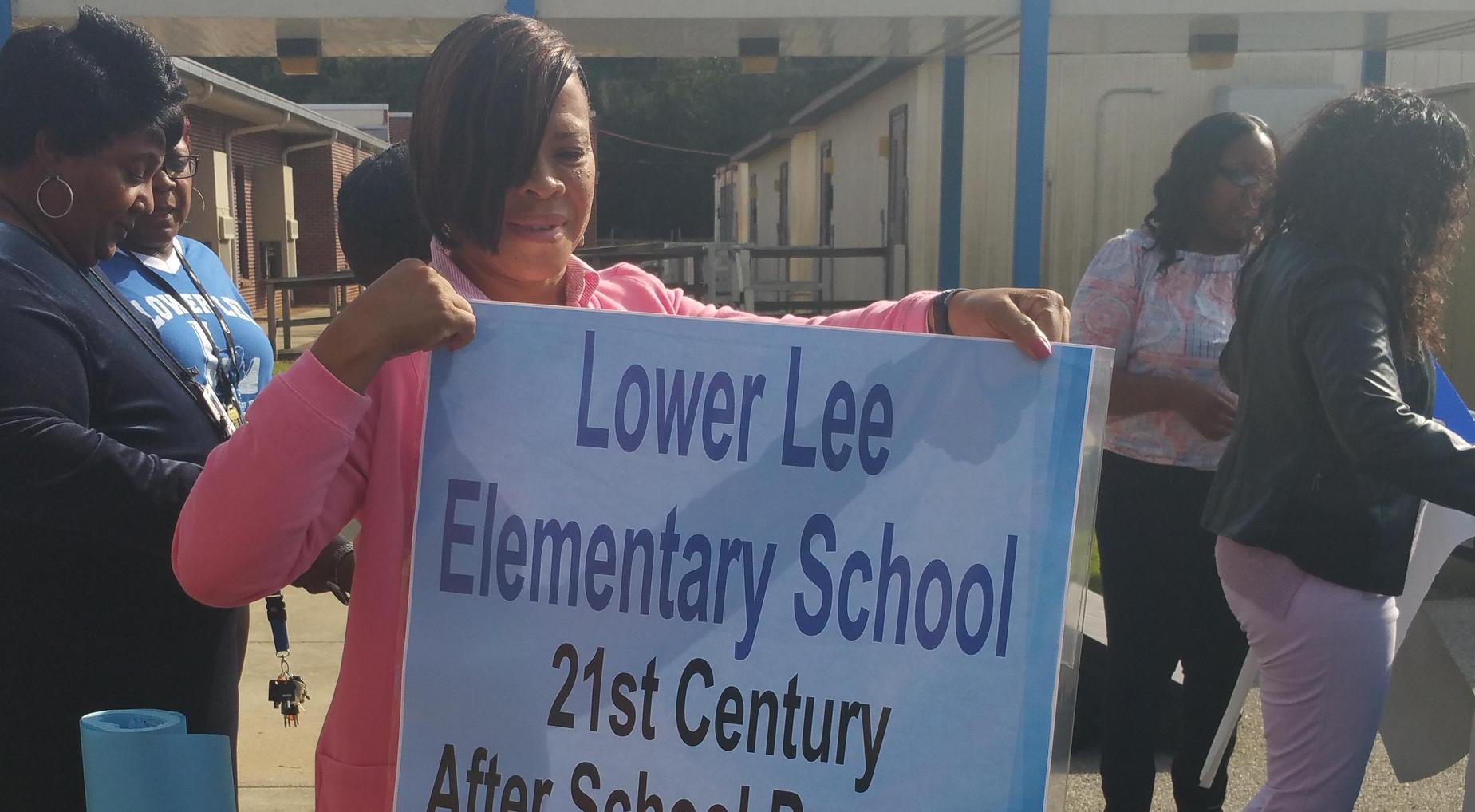 Lower Lee Elementary school event