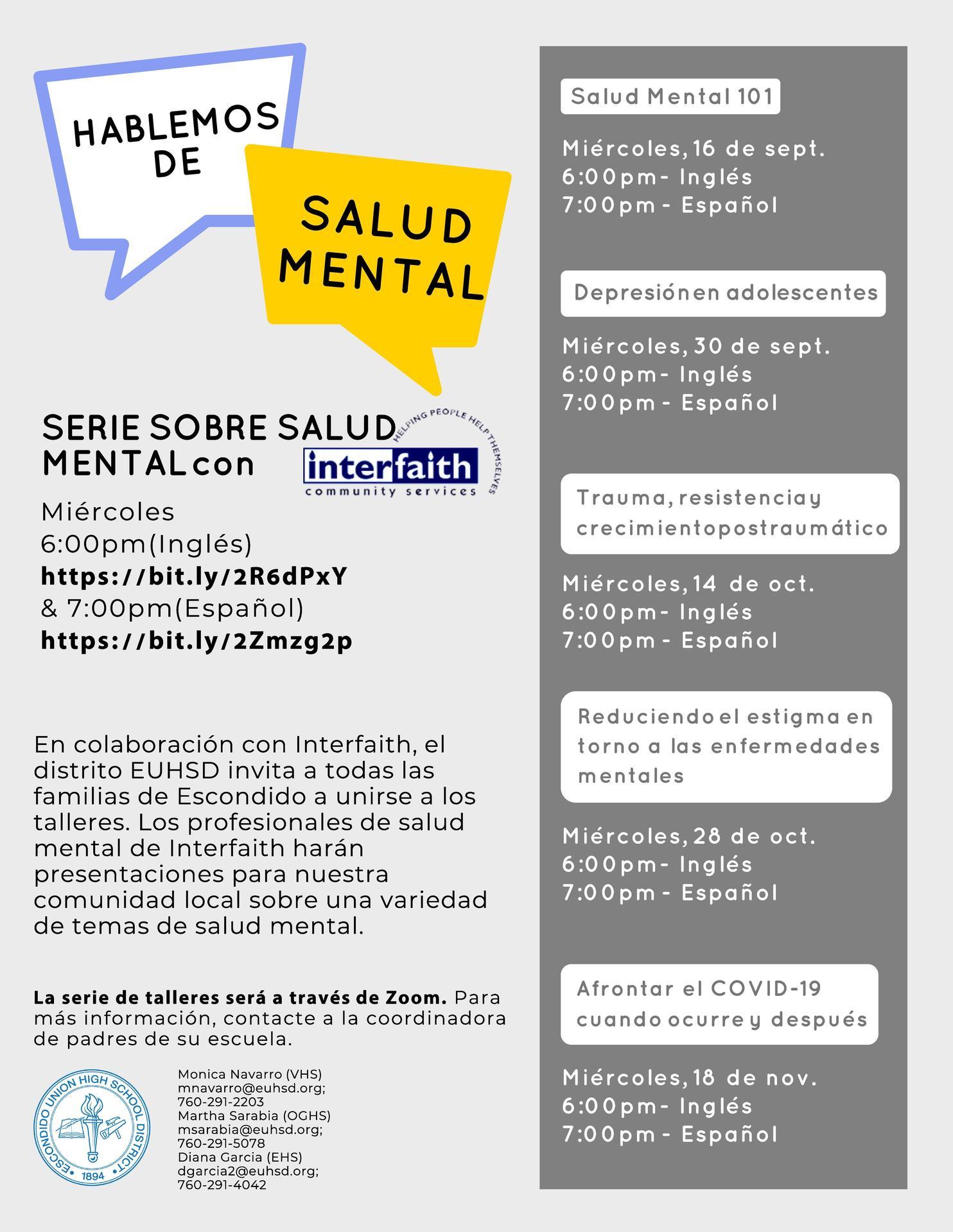 upcoming event spanish