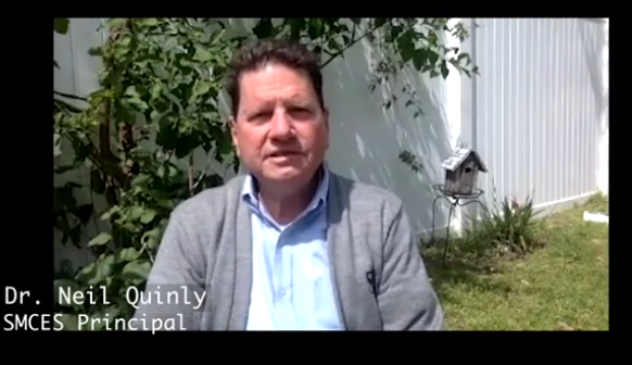Principal Dr. Neil Quinly's Seahawk Broadcast Featured Photo