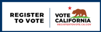 Register To Vote California Flag Design