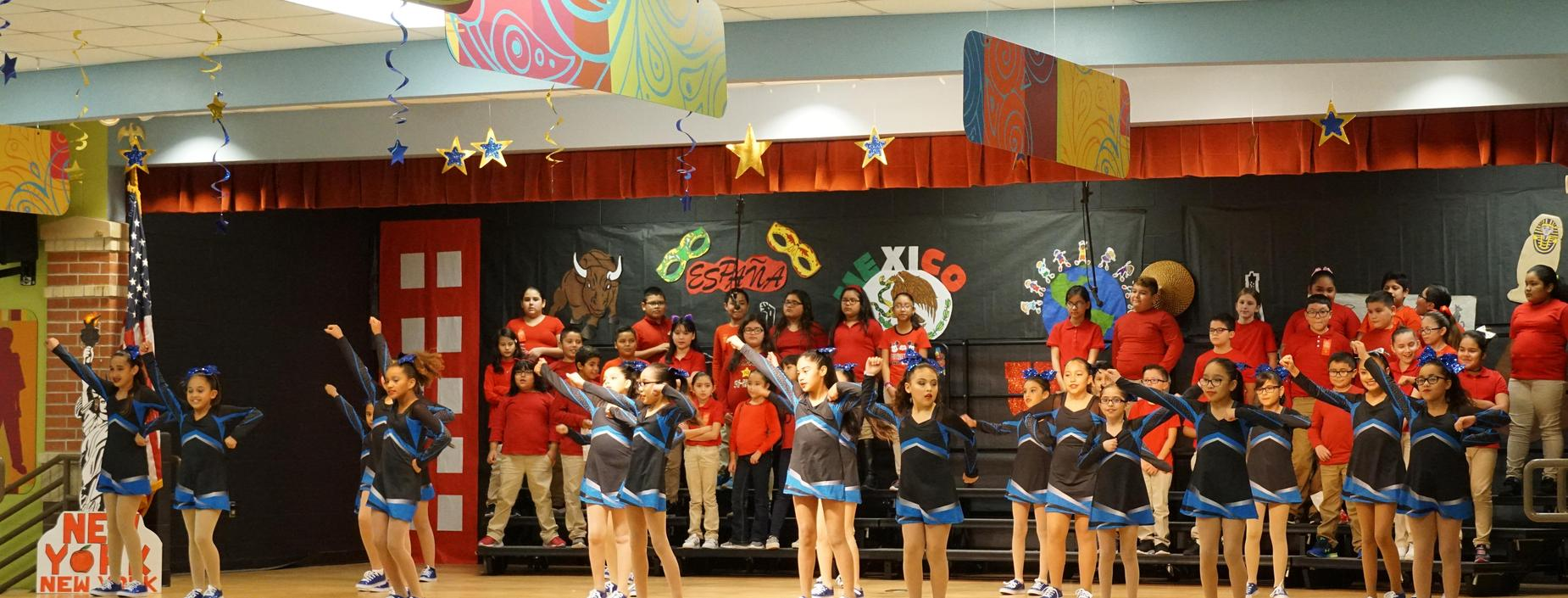 Choir and Dance Team Perform during Red Ribbon Week Assembly