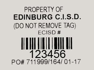 ECISD tag photo