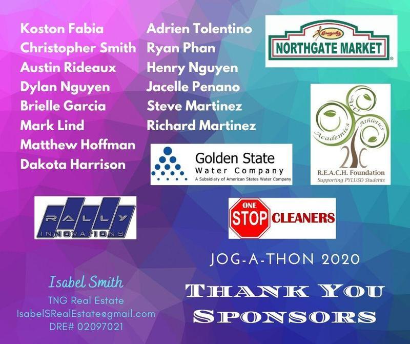 jog a thon sponsors