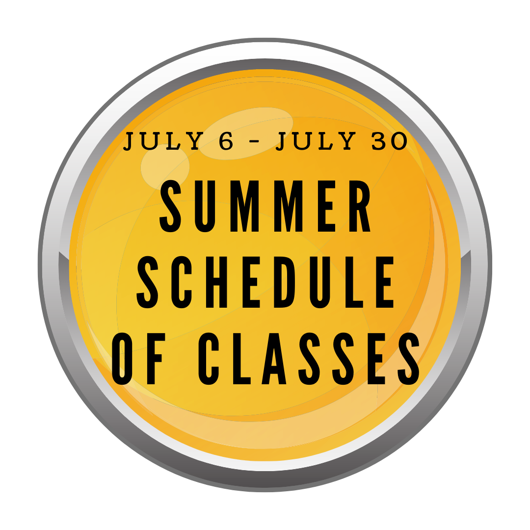 Yellow button to link to summer class schedule