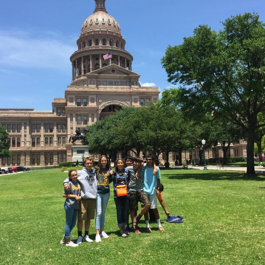 7th Grade Field Trip to Austin