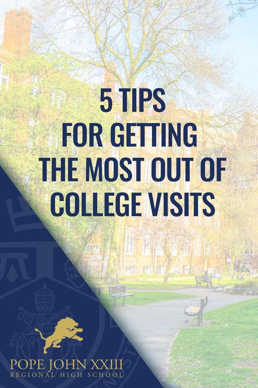 Friday Five College Visits