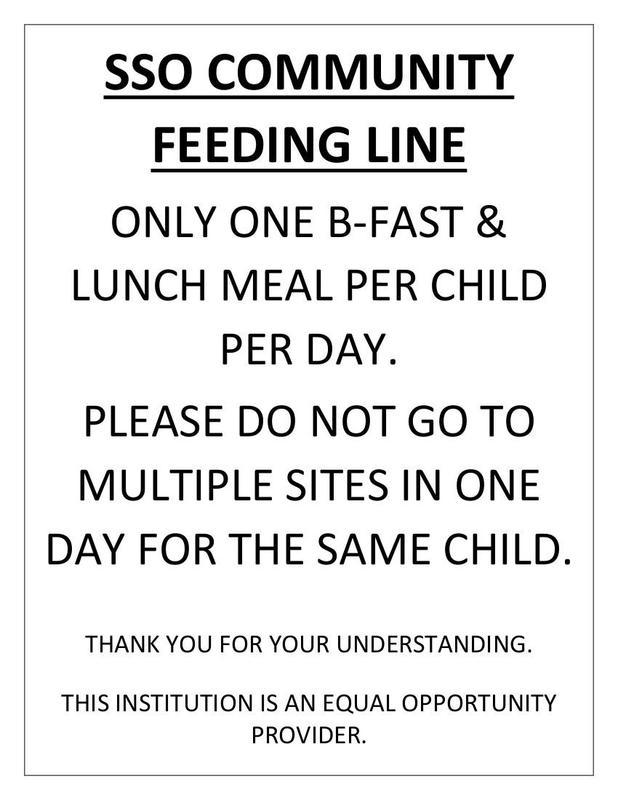 SSO COMMUNITY  FEEDING LINE Featured Photo