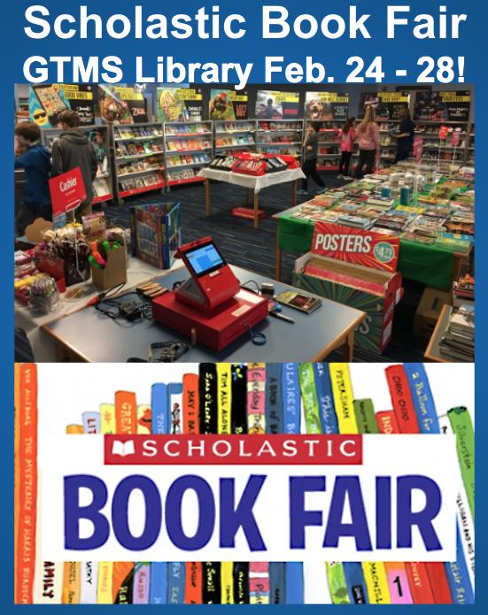Scholastic Book Fair Feb. 24-28