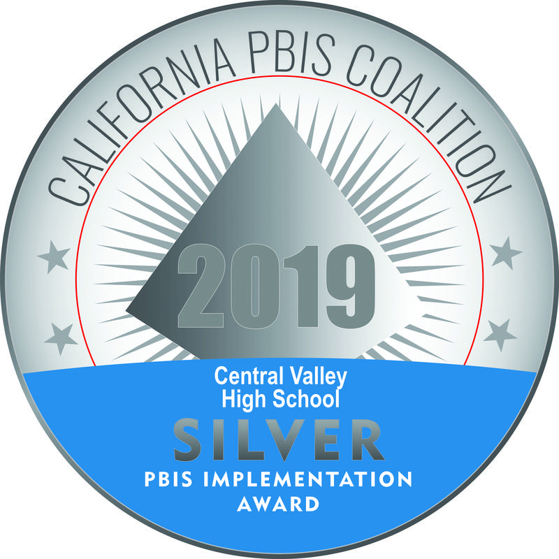 Central Valley High School is a PBIS Silver Award Winner Thumbnail Image