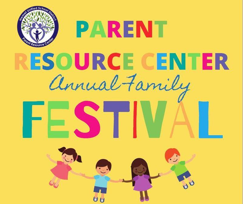 Parent Resource Center's annual Family Festival Flyer.