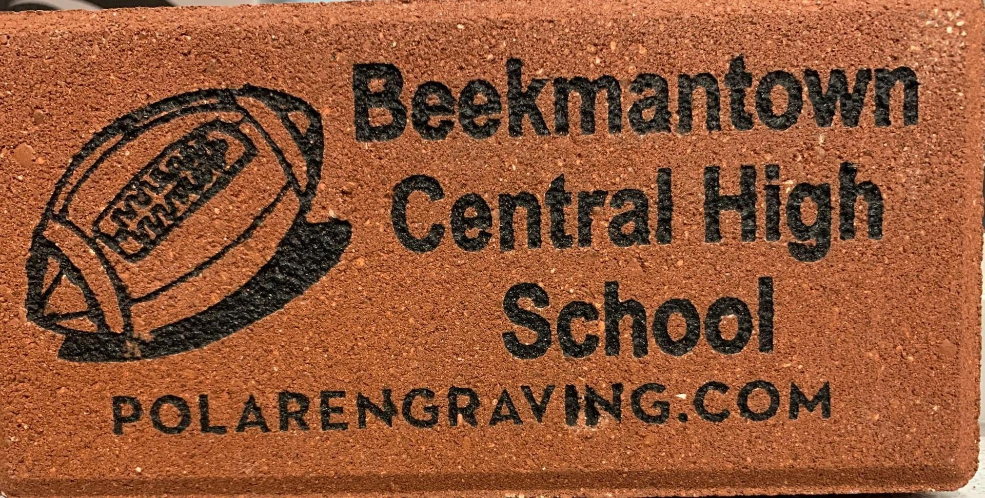 Image depicting what the engraved BCSD brick will loook like