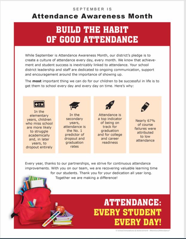 Attendance Flyer