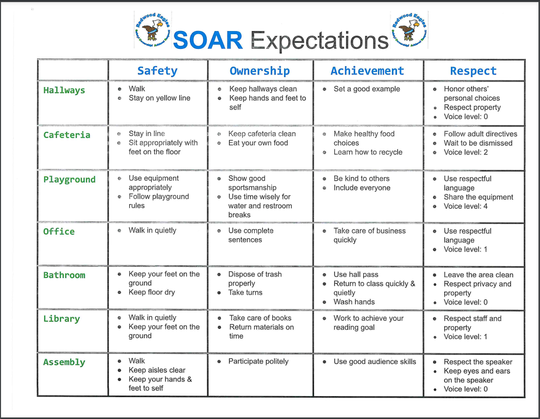 SOAR Expectations