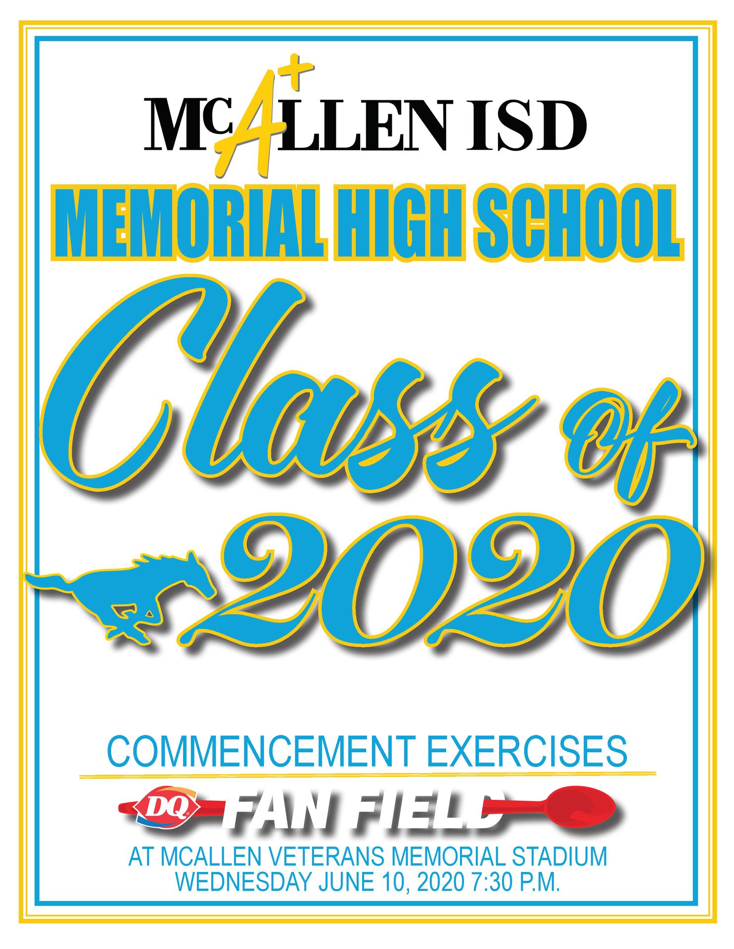 McAllen Memorial High School Graduation