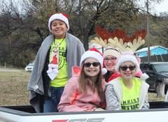 MWJH Christmas parade