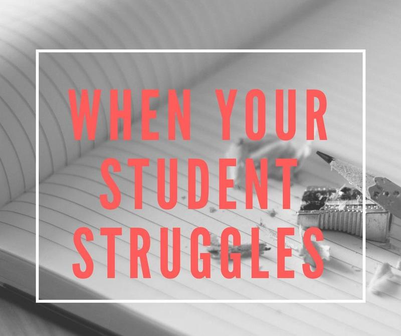 What to do if your student struggles Featured Photo