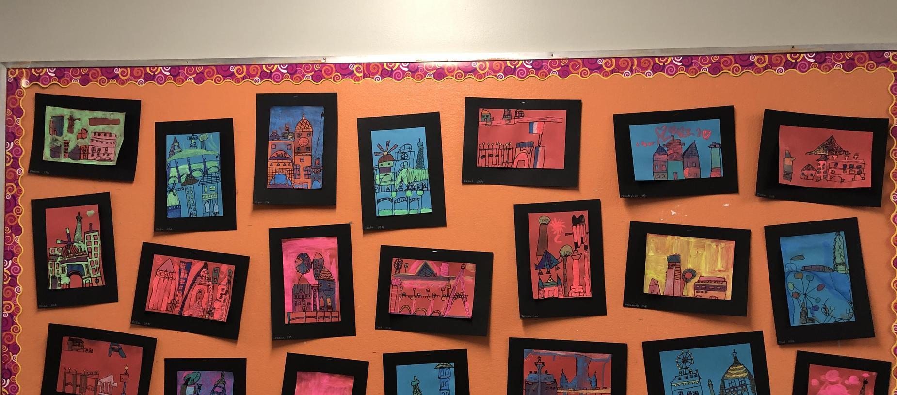 Francophone International and Cultural Day Student Artwork