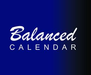Balanced Calendar graphic