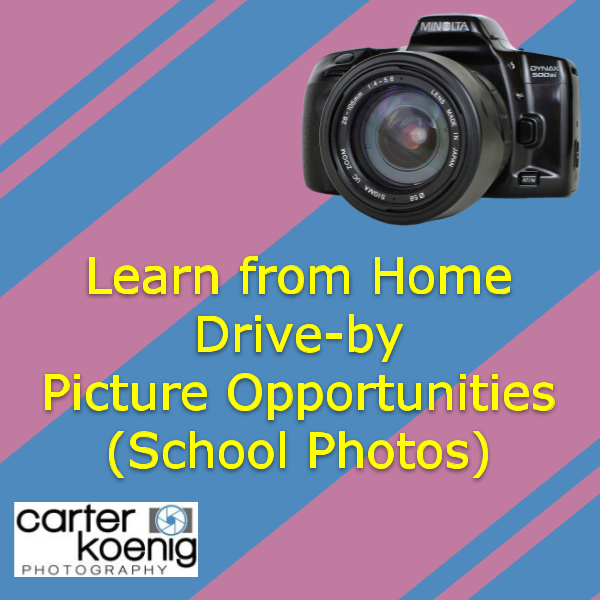Learn from Home Drive-by Pictures (School photos) Featured Photo