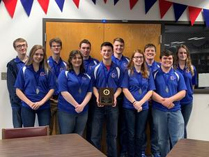 CHS Scholastic Bowl team places first at Masonic Sectional