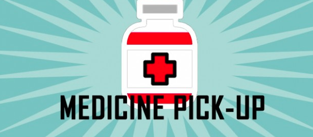 Medication pick up Thumbnail Image