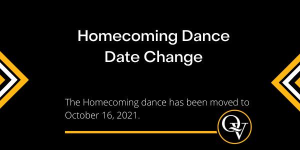 Homecoming Dance Date Change