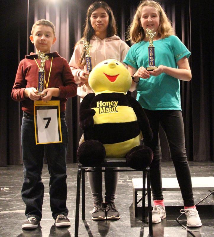 Gananda 2020 Spelling Bee Winners