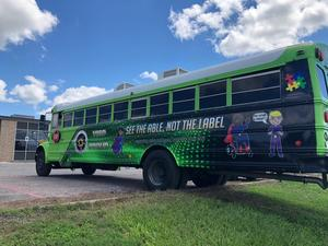 The VISD Special Education Department is excited to announce the rolling out of the VISD Mobile Sensory-Motor Unit (MSMU)