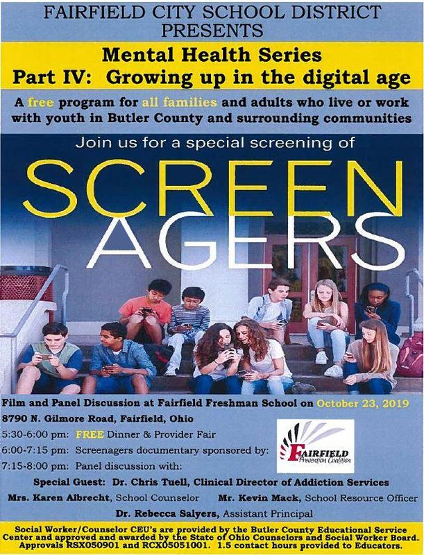 FCSD Mental Health Series Part IV: Growing Up in a Digital Age October 23 - FREE & Open to Public Featured Photo