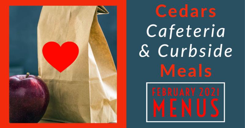 February Cafeteria Menu