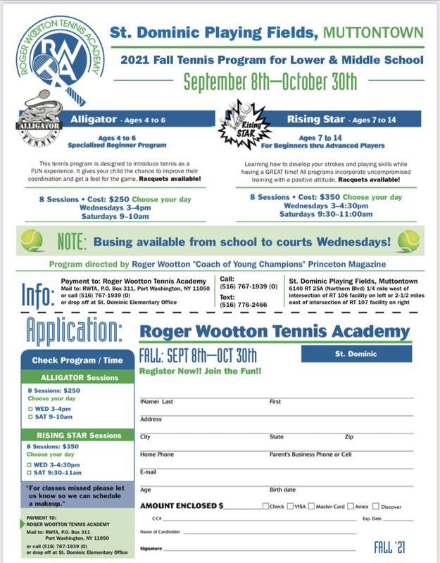 Roger Wooten Tennis Camp Featured Photo