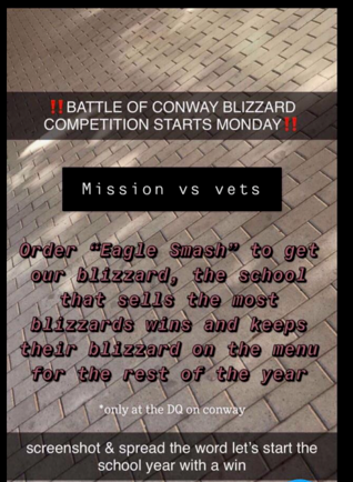 Battle of Conway Blizzard Competition Featured Photo