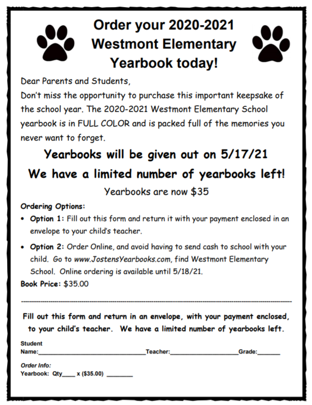 WES yearbook
