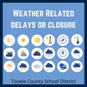 weather delays or closures