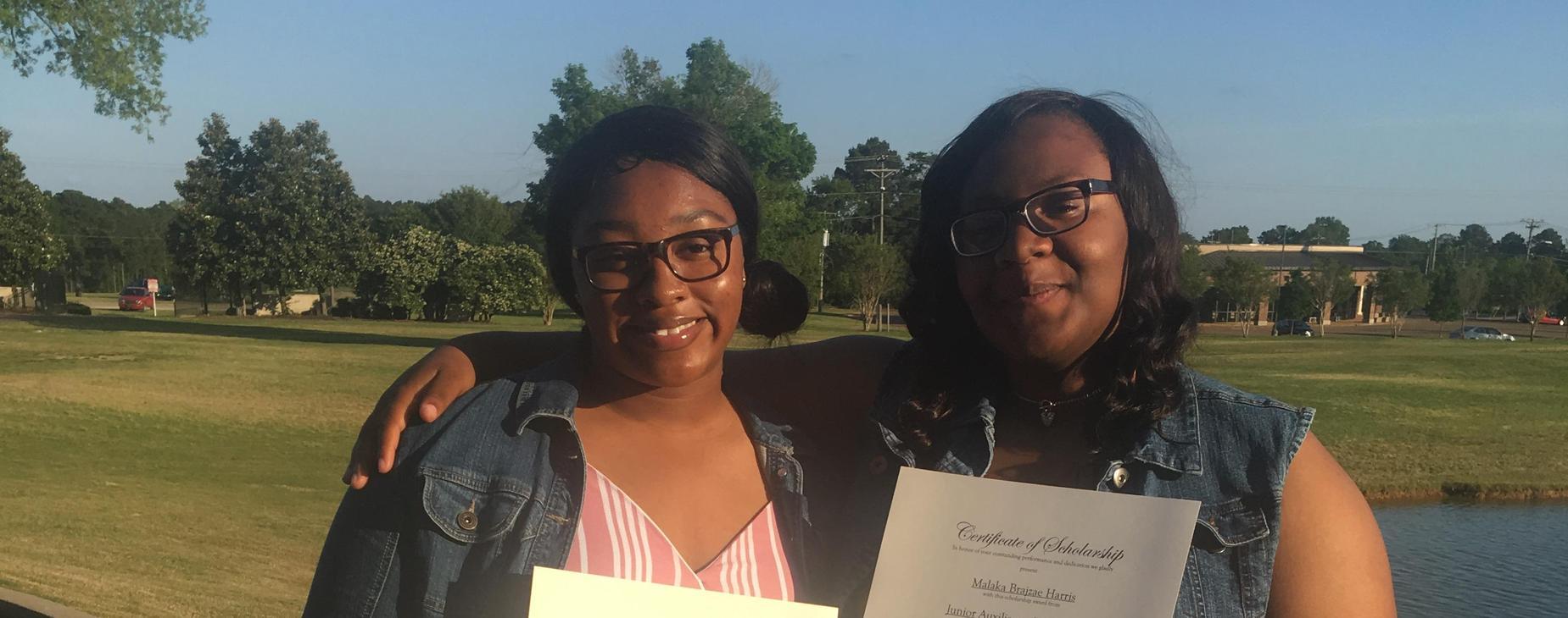 JA Scholarship winners