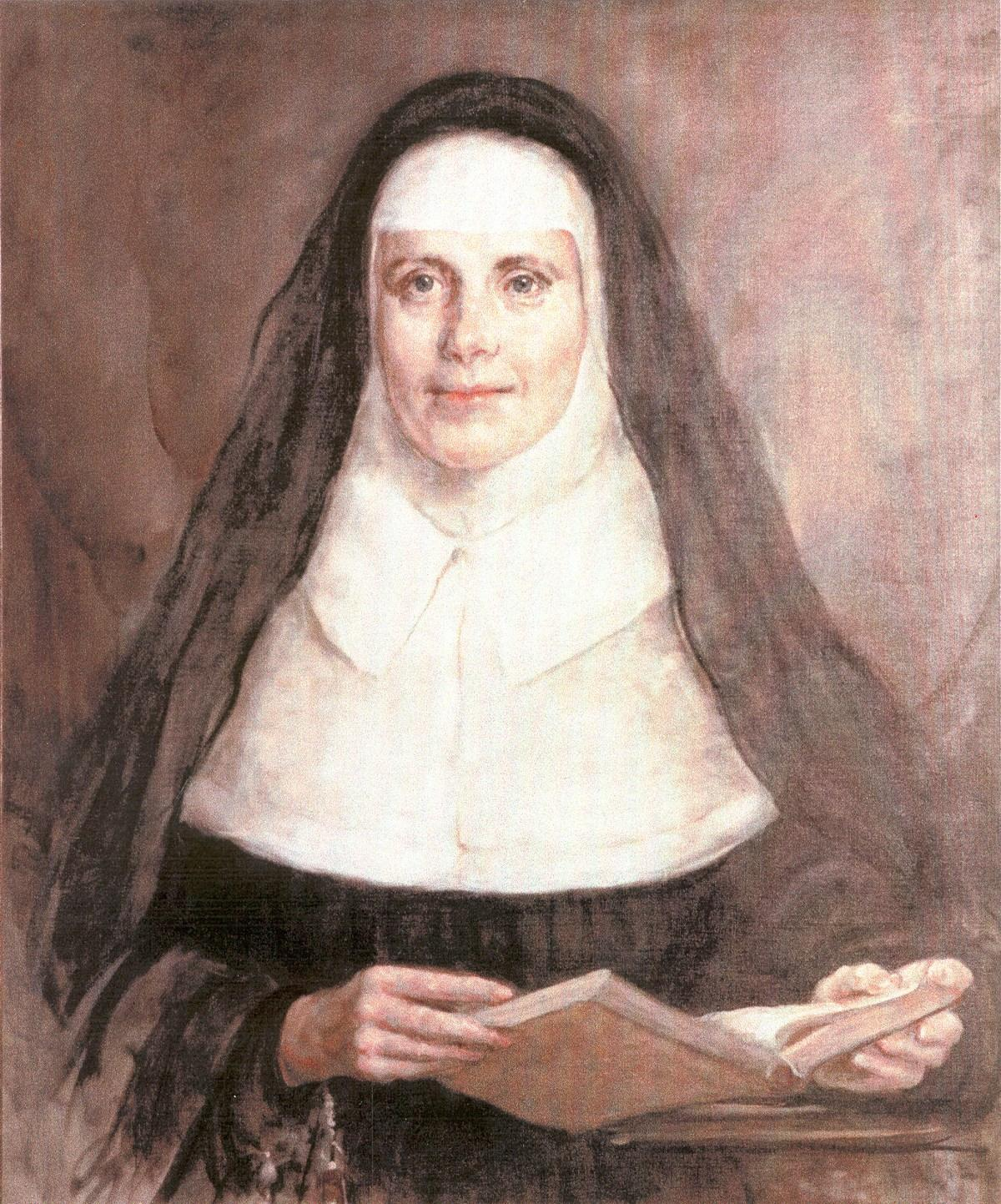 drawing of Mother Catherine McAuley
