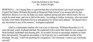 Unsung hero article.