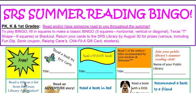 Announcing our Summer Reading BINGO Challenge! Thumbnail Image