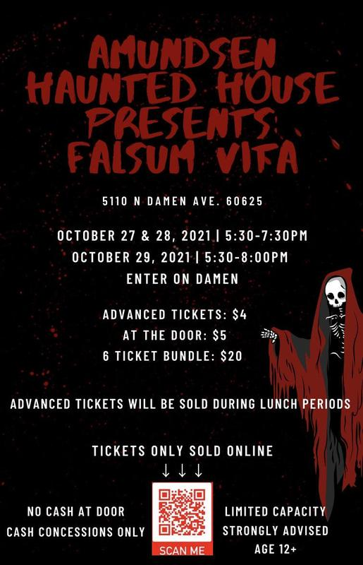 The Amundsen Haunted House is Back!!! Featured Photo